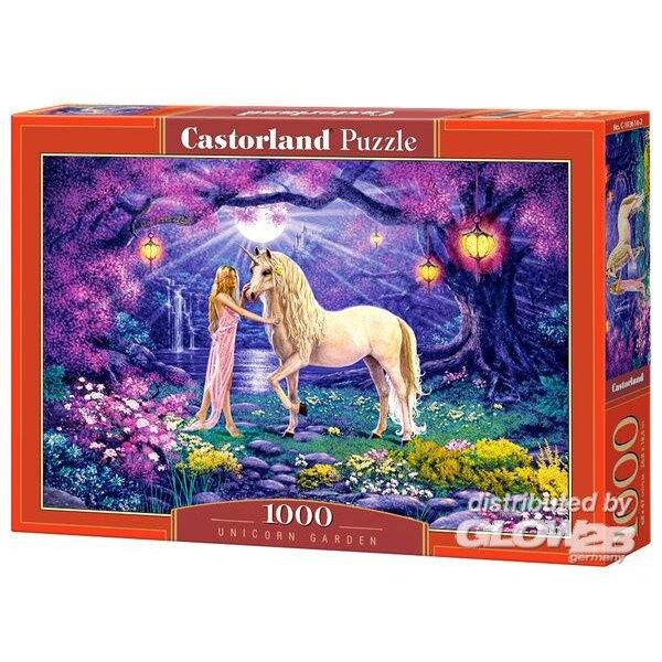 Jardin de la licorne Puzzle 1000 pièces