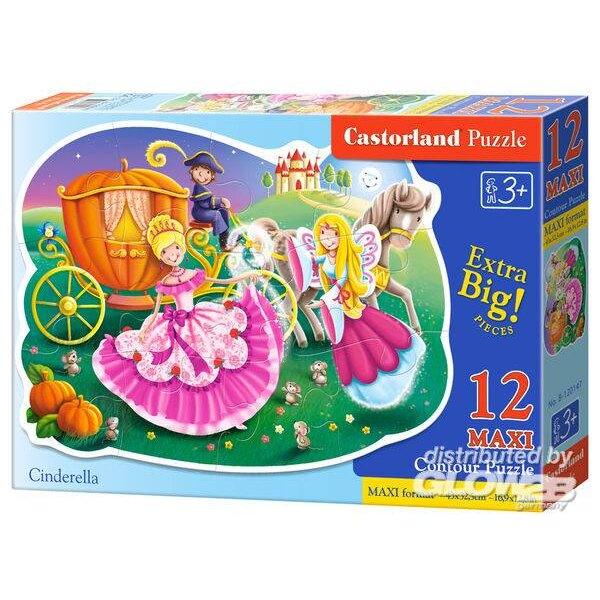 Cendrillon Puzzle 12 pièces