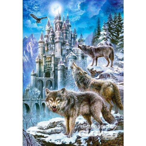 Loups et Château Puzzle 1500 pièces