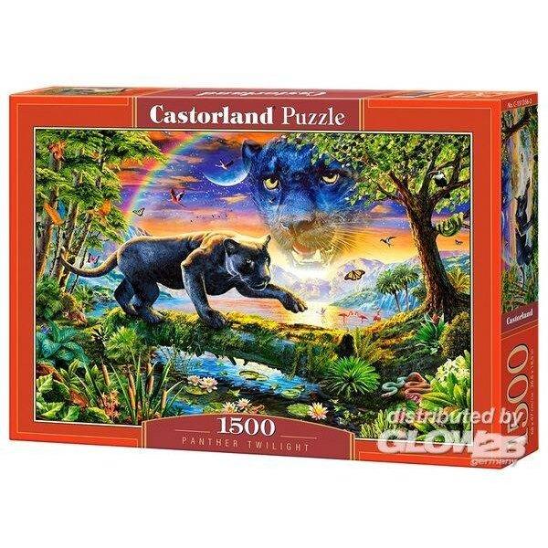 Panthère du crépuscule Puzzle 1500 pièces