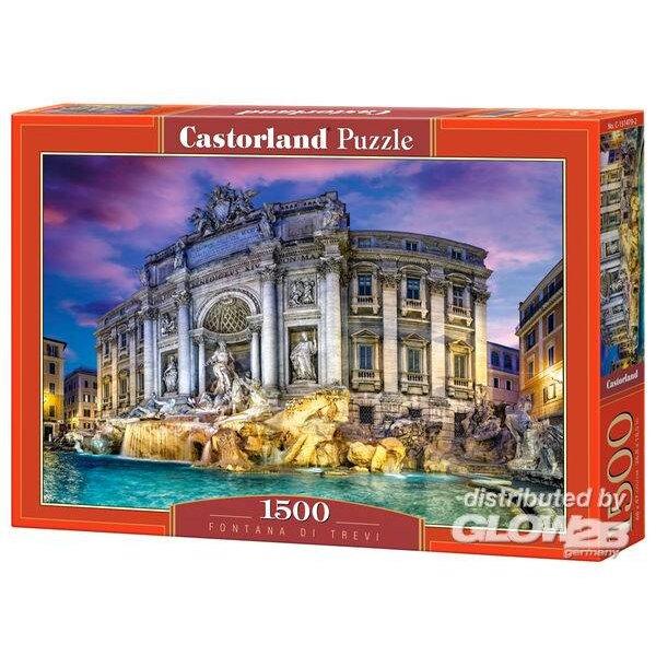 Fontanna di Trevi Puzzle 1500 pièces