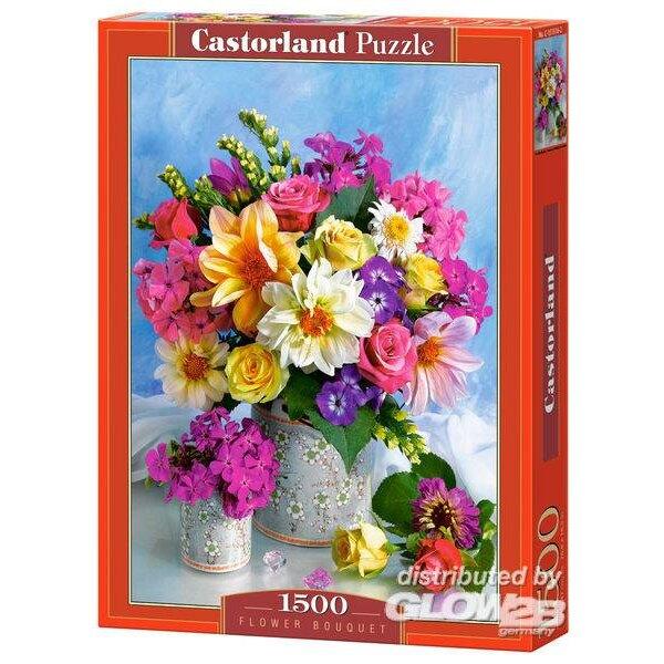 Bouquet de fleurs Puzzle 1500 pièces