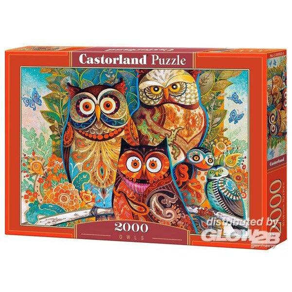 Hiboux Puzzle 2000 pièces