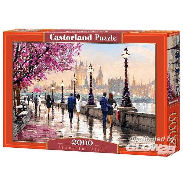 Le long de la rivière Puzzle 2000 pièces