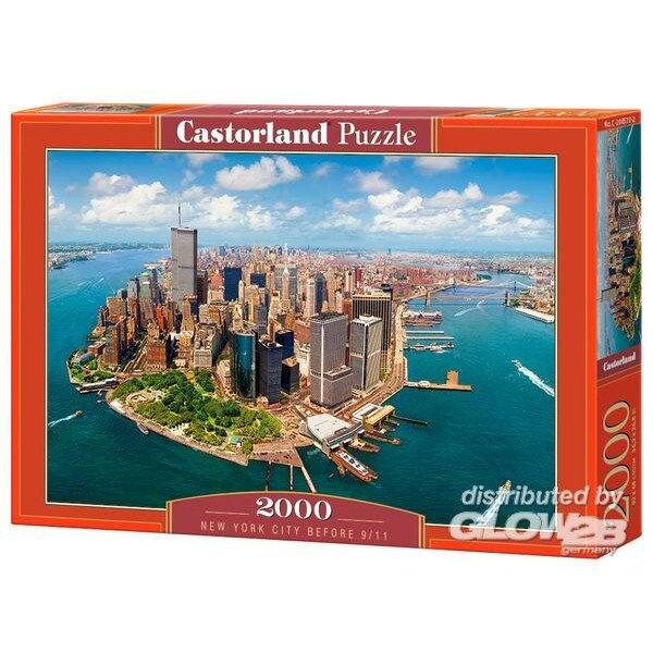 New York avant le 11 septembre Puzzle 2000 pièces