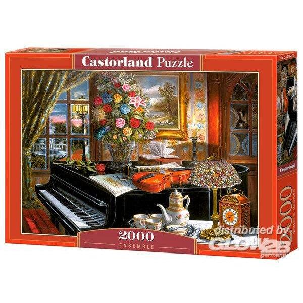 Une chienne et son bébé toujours ensemble Puzzle 2000 pièces