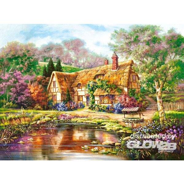Crépuscule à Woodgreen Pond Puzzle 3000 pièces
