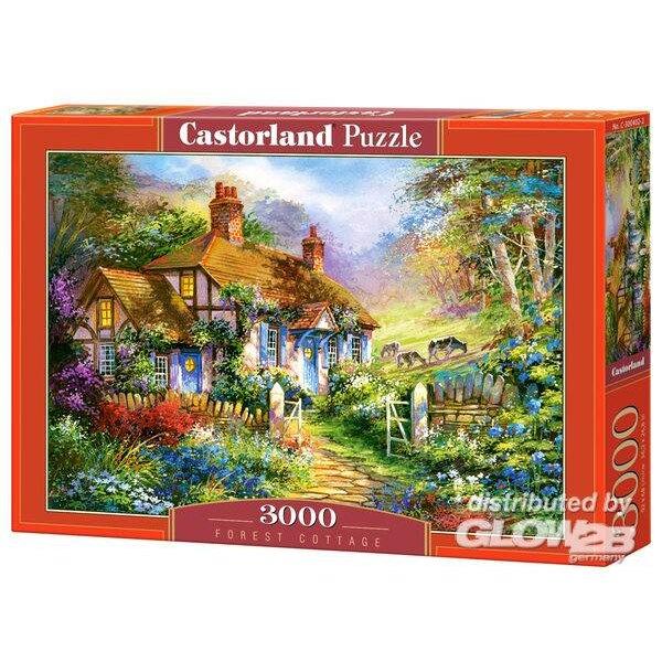 Cottage de la Forêt Puzzle 3000 pièces