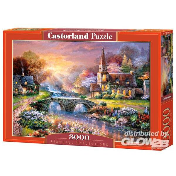 Réflexions pacifiques Puzzle 3000 pièces