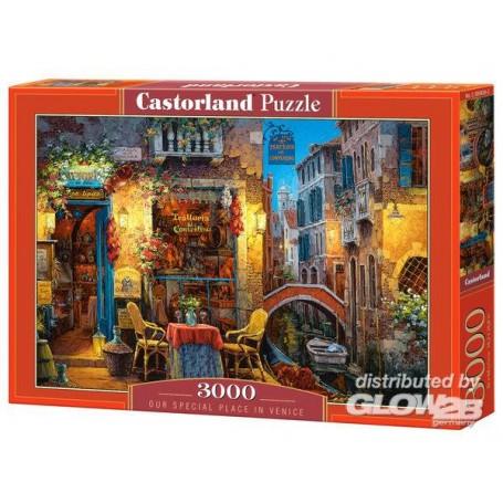 Puzzle Notre place spéciale i.Venice, Puzzle 3000Tl Castorland C-300426-2