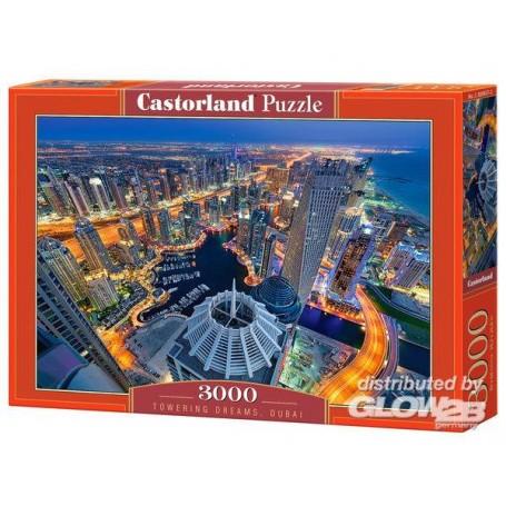 Puzzle Towering Dreams, Dubai, Puzzle 3000 pièces