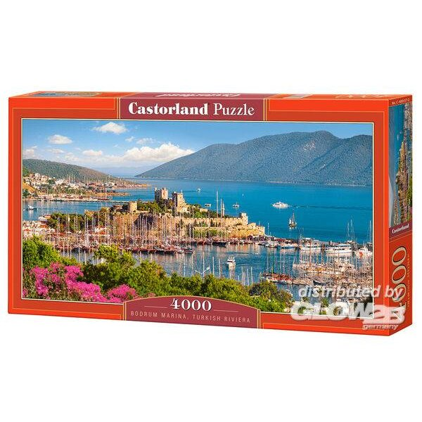 Marina de Bodrum, Riviera turque Puzzle 4000 pièces