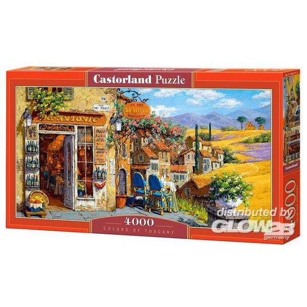 Couleurs de Toscane Puzzle 4000 pièces