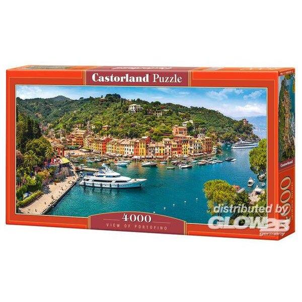 Vue de Portofino Puzzle 4000 pièces
