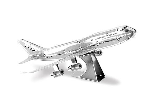 Maquette d'avion - Aviation: BOEING 747 --Metal Earth