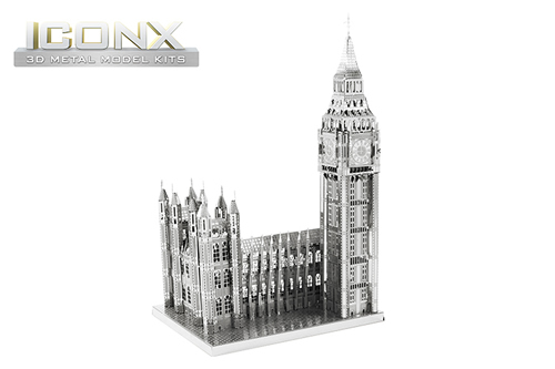 Maquette de bâtiment - ICONX - BIG BEN --Metal Earth