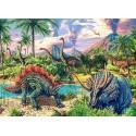 Puzzle Volumes de dinosaure, puzzle 120 pièces Castorland B-13234-1