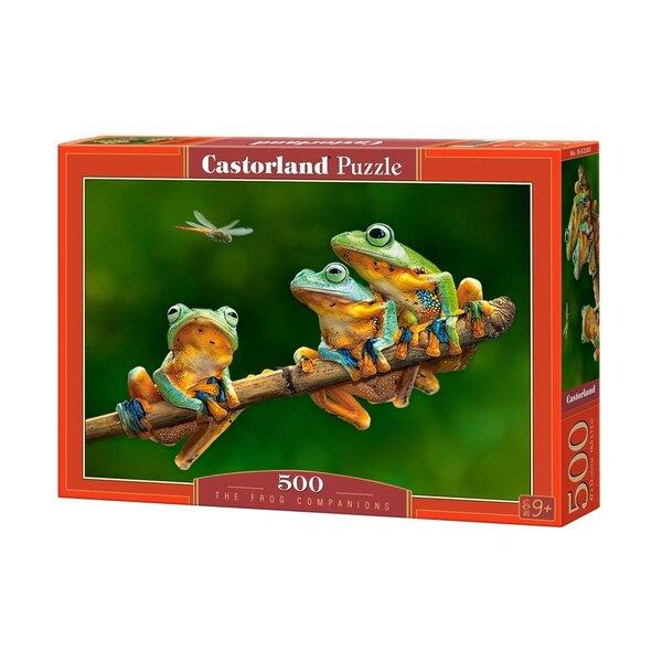 Puzzle Les compagnons de grenouille
