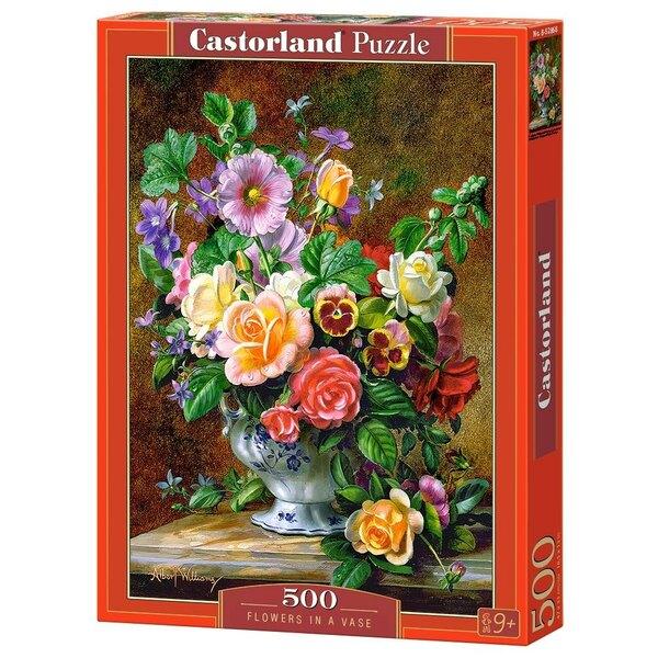 Fleurs dans un vase Puzzle 500 pièces