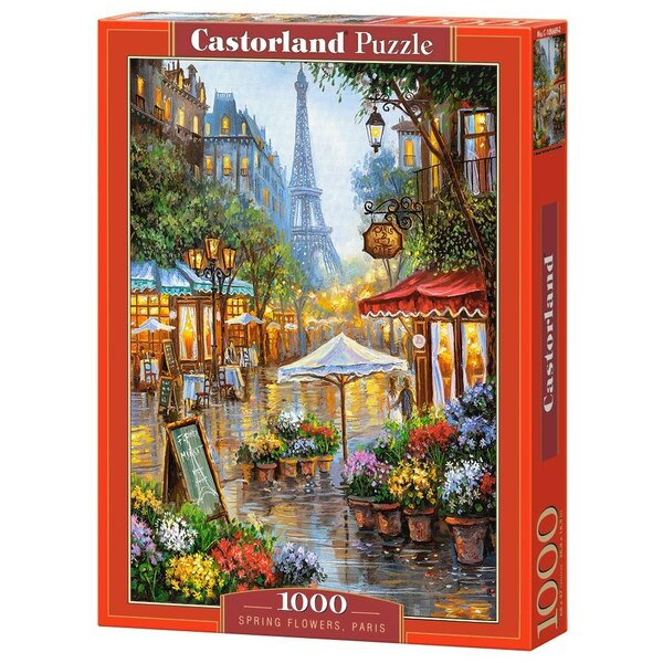 Fleurs de printemps, Paris Puzzle 1000 pièces