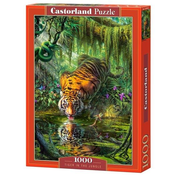 Tigre dans la jungle Puzzle 1000 pièces