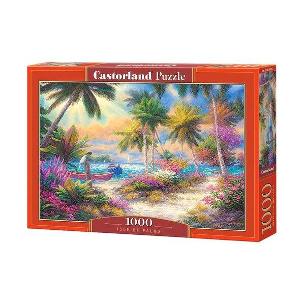 Ile de palmiers Puzzle 1000 pièces
