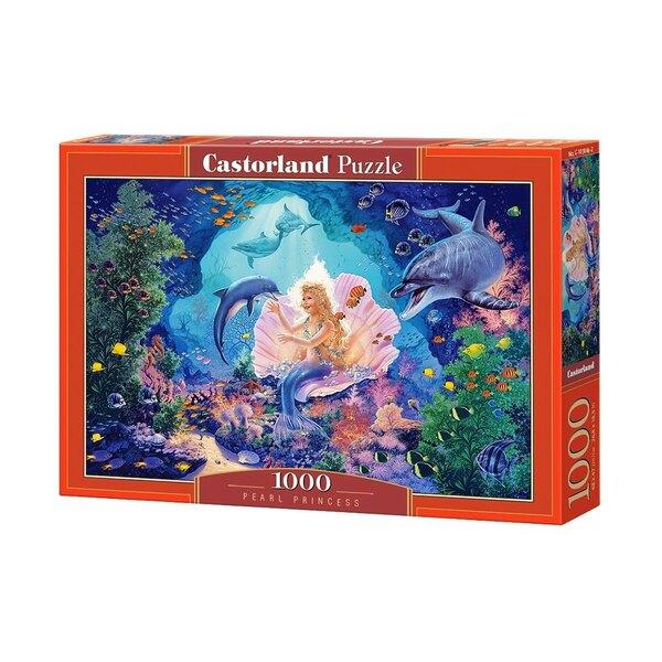 La sirène, princesse des eaux Puzzle 1000 pièces