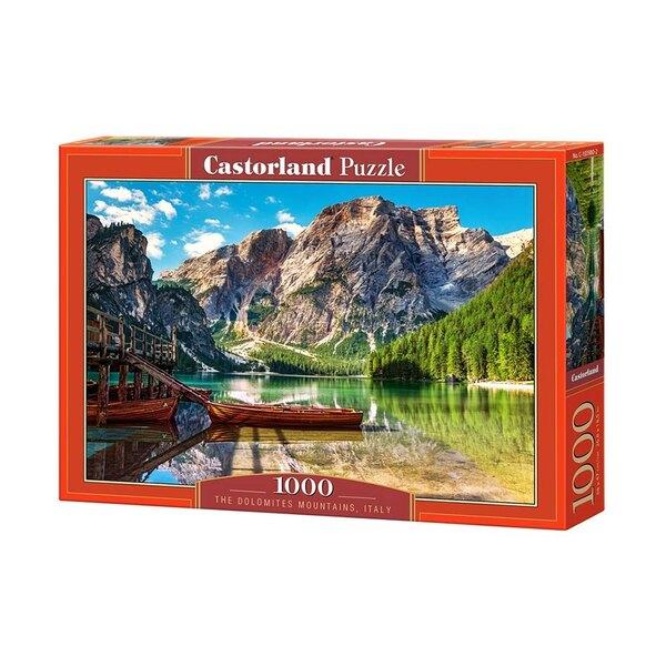 Les montagnes des Dolomites, Italie Puzzle 1000 pièces