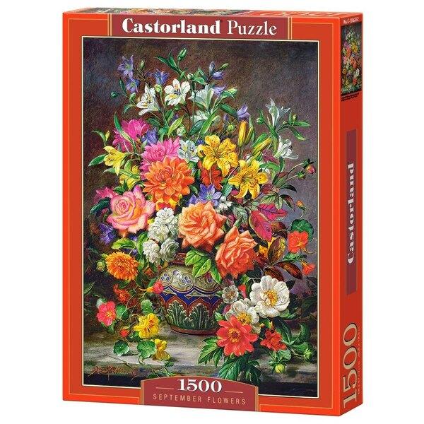 Fleurs de septembre Puzzle 1500 pièces
