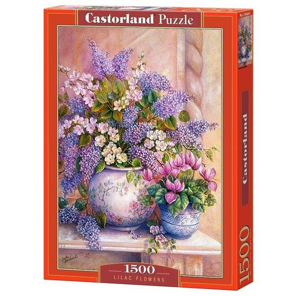 Fleurs lilas Puzzle 1500 pièces