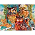 Puzzle Owls, Puzzle 2000 parties Castorland C-200535-2