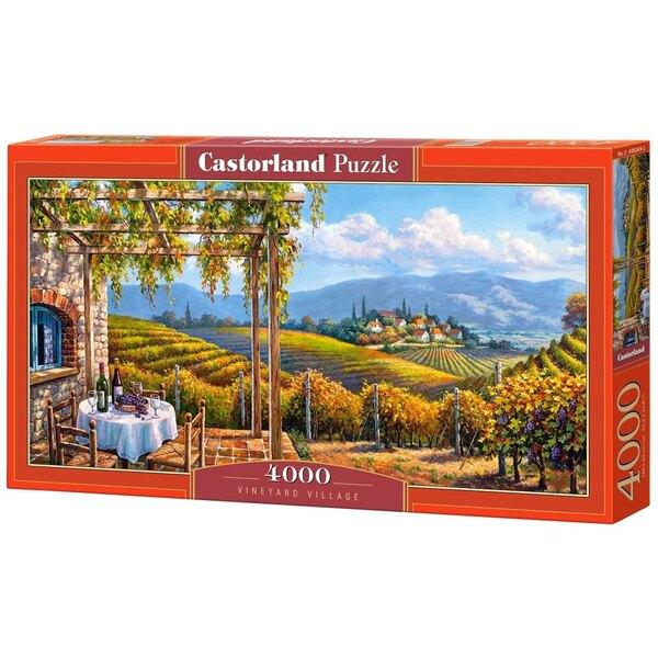 Village Vignoble et des vignes Puzzle 4000 pièces