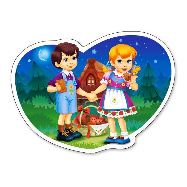 Hansel et Gretel Puzzle 15 pièces