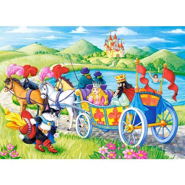 Chat botté Puzzle 60 pièces