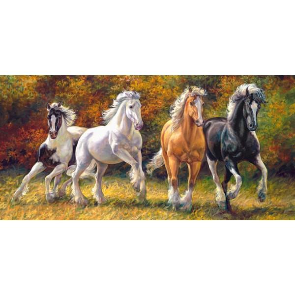 Des chevaux nés pour courir Puzzle 4000 pièces