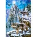 Puzzle Wolves and Castle, Puzzle 1500 parties Castorland C-151141-2