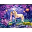 Puzzle Jardin de la licorne