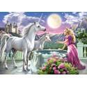 Princesse et ses licornes