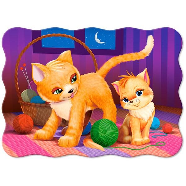 Chat et chaton Puzzle 30 pièces