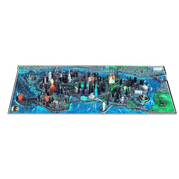 Batman puzzle 4D Large Gotham City (1550+pièces) Puzzle 3d 1550 pièces
