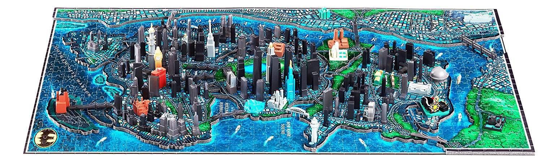 Puzzle 3d - Batman puzzle 4D Large Gotham City (1550+pièces) Puzzle 3d