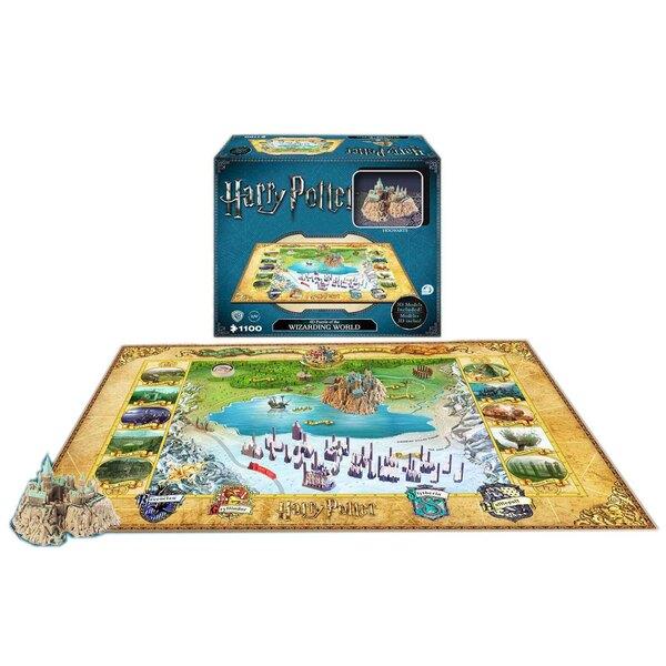 Harry Potter puzzle 4D Large Hogwarts (1100 pièces) Puzzle 3d 1100 pièces