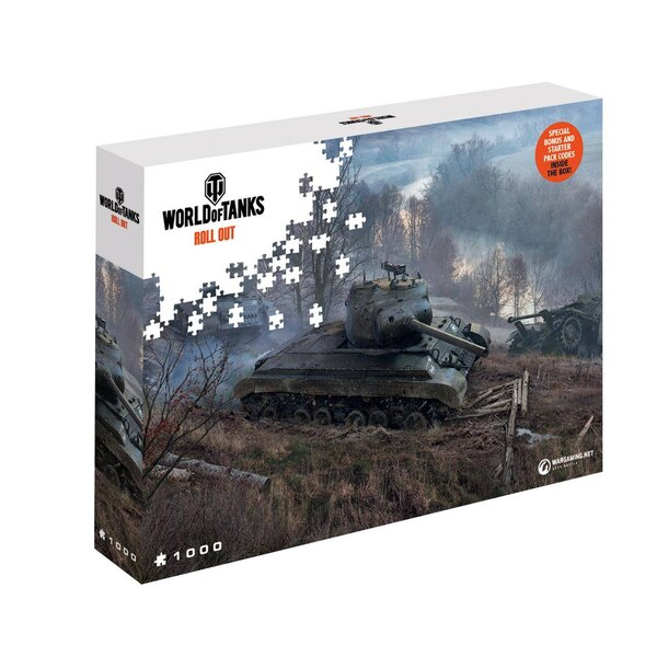 World of Tanks puzzle On the Prowl (1000 pièces) Puzzle 1000 pièces