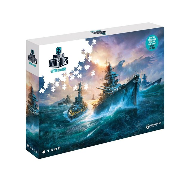 World of Tanks puzzle German Battleships (1000 pièces) Puzzle 1000 pièces