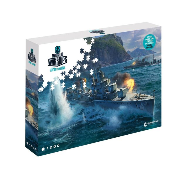 World of Tanks puzzle Pan-Asian Destroyers (1000 pièces) Puzzle 1000 pièces