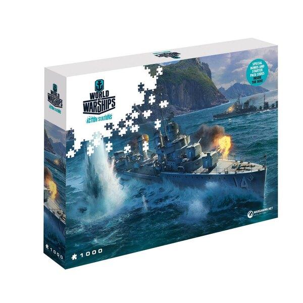 World of Tanks puzzle Pan-Asian Destroyers (1000 pièces) Puzzle 1000 pièces