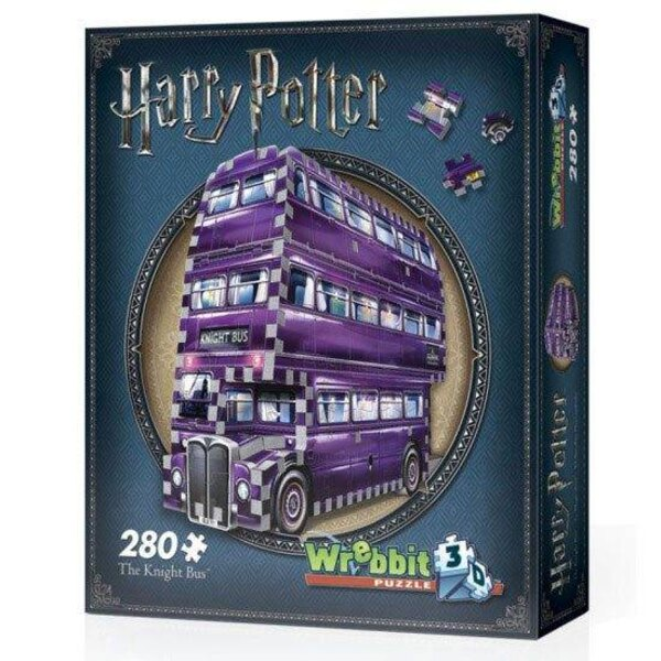 Harry Potter Puzzle 3D Built-Up PAD Demo The Knight Bus
