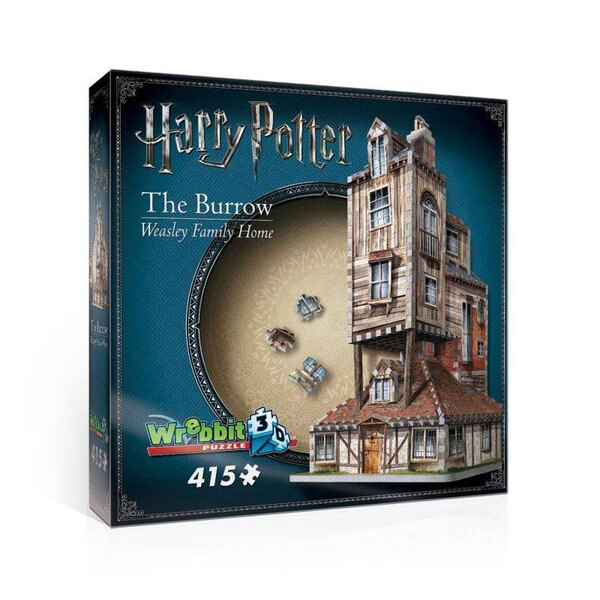 Harry Potter Puzzle 3D The Burrow (Weasley Family Home) Puzzle 3d 415 pièces