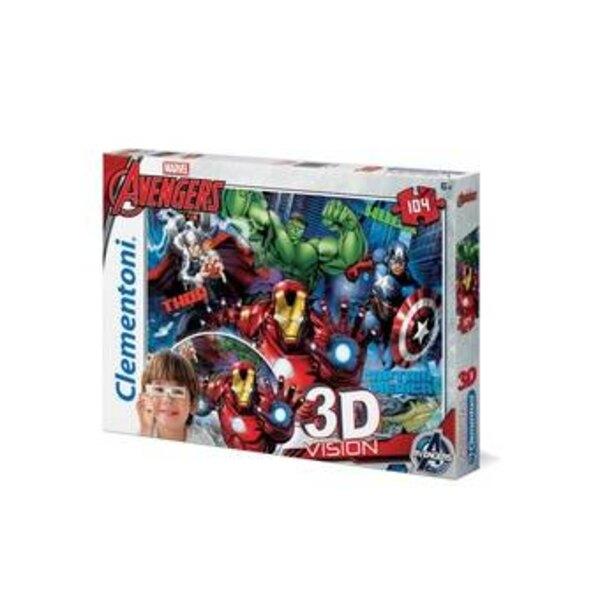 Avengers Puzzle 104 pièces