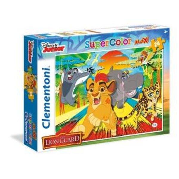 La Garde du Roi Lion Puzzle 24 pièces